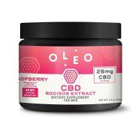 OLEO Raspberry CBD Rooibos Extract Tea Mix