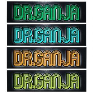 Bumper Stickers Dr.Ganja