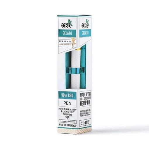 CBDfx Vape Pen Gelato Terpenes