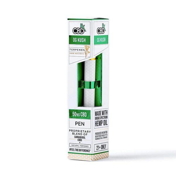 CBDfx Vape Pen OG Kush Terpenes