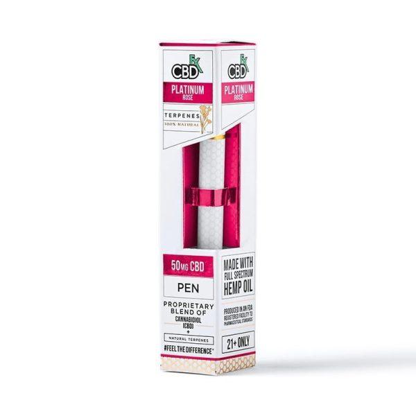 CBDfx Vape Pen Platinum Rose Terpenes