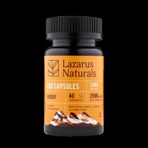 Lazarus Naturals Energy CBD Capsules