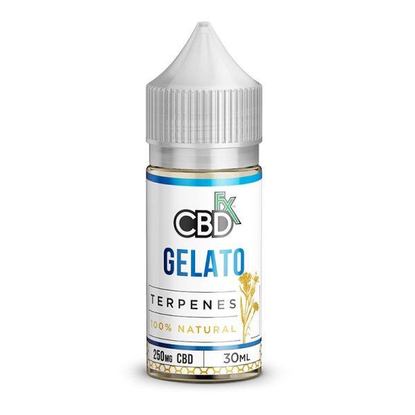 CBDfx Vape Juice Gelato Terpenes
