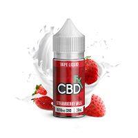 CBDfx Vape Juice Strawberry Milk 1000mg 30ml