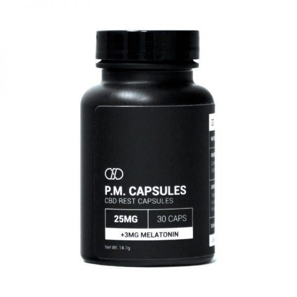 Infinite CBD Isolate PM Capsules 30ct 25mg