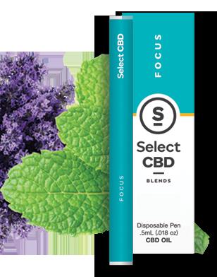 Select CBD Focus Peppermint Vape Pen
