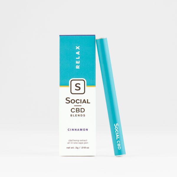 Select CBD Relax Cinnamon Vape Pen