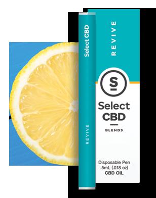 Select CBD Revive Lemon Vape Pen