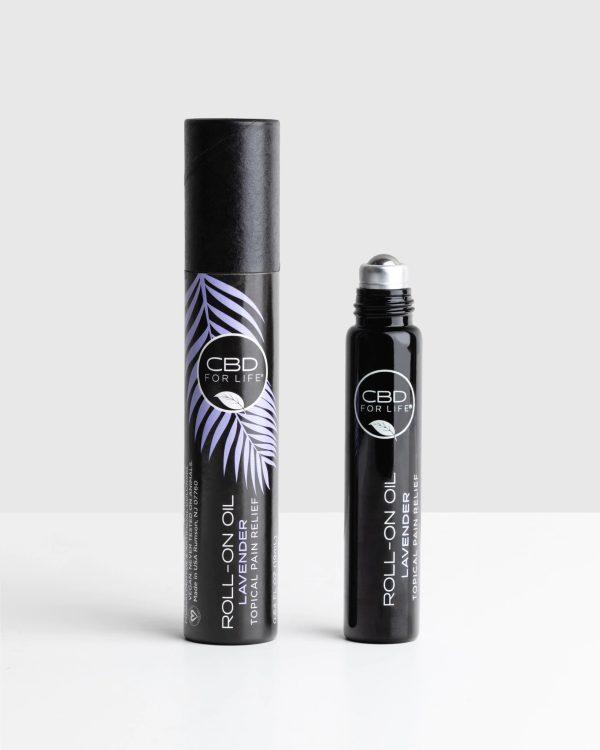 CBD For Life Pure CBD Roll On Oil Lavender
