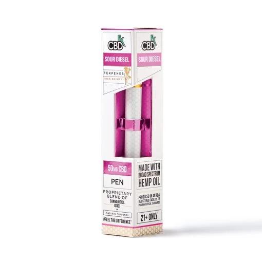 CBDfx Vape Pen Sour Diesel Terpenes