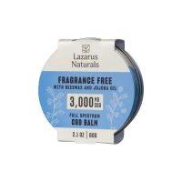 Lazarus Naturals Full Spectrum CBD Balm Fragrance Free 3000mg 2.1oz