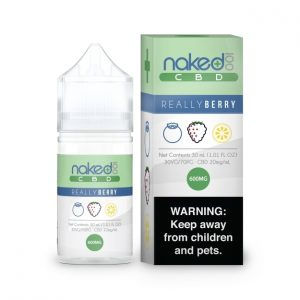 Naked 100 CBD E-Liquid Really Berry 1200mg 30ml