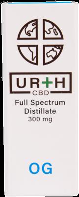 Urth CBD Full Spectrum Distillate Vape Cartridge OG Kush