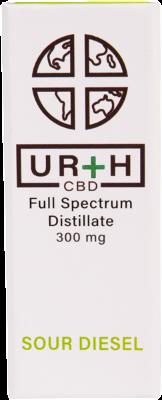 Urth CBD Full Spectrum Distillate Vape Cartridge Sour Diesel