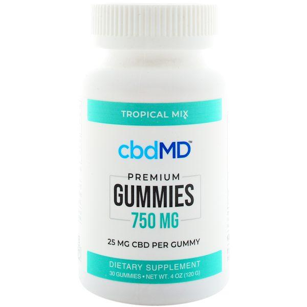 cbdMD CBD Gummies 750mg 30ct