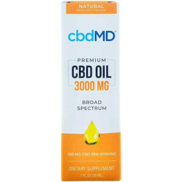 cbdMD CBD Oil Tincture 3000mg 30ml
