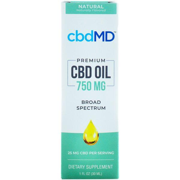 cbdMD CBD Oil Tincture 750mg 30ml
