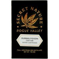 Secret Nature CBD Distillate Vape Cartridge Durban Poison