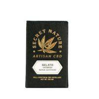 Secret Nature CBD Distillate Vape Cartridge Gelato
