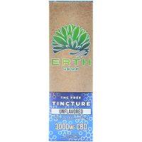 Erth Hemp CBD Oil Tincture THC Free 3000mg 30ml