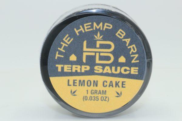 The Hemp Barn Terp Sauce Lemon Cake