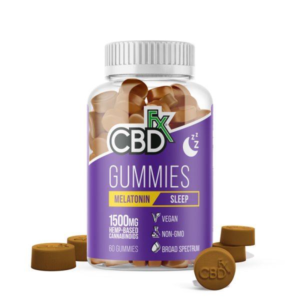 CBDfx Sleep Gummies 1500mg 60ct
