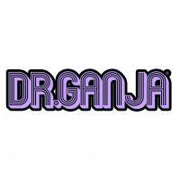 Dr.Ganja Purple Sticker Small