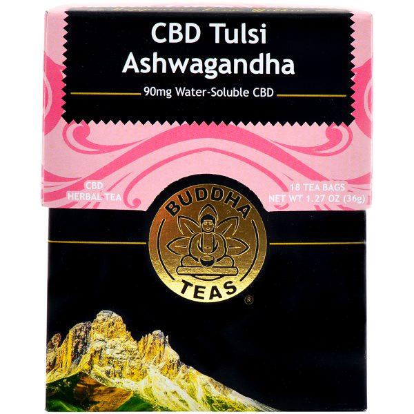 Buddha Teas CBD Tulsi Ashwagandha Tea