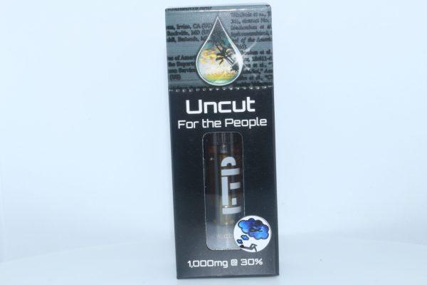 CBD For The People Uncut CBD Wax Cartridge Blue Dream 1000mg 30% CBD