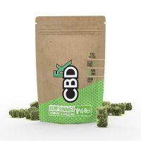 CBDfx CBD Gummy Bears with Turmeric and Spirulina
