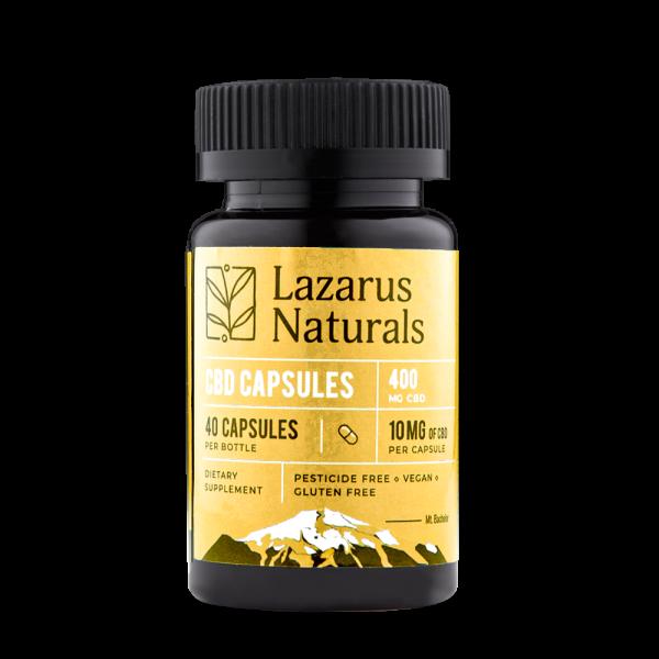 Lazarus Naturals 10mg Full Spectrum CBD Capsules - 10 pack