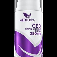 Medterra CBD Rapid Cooling Cream 250mg