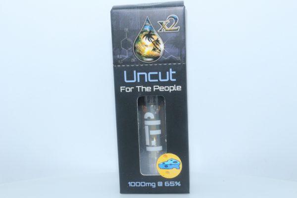 CBD For The People Uncut CBD Wax Cartridge Blue Cheddar 1000mg 65% CBD