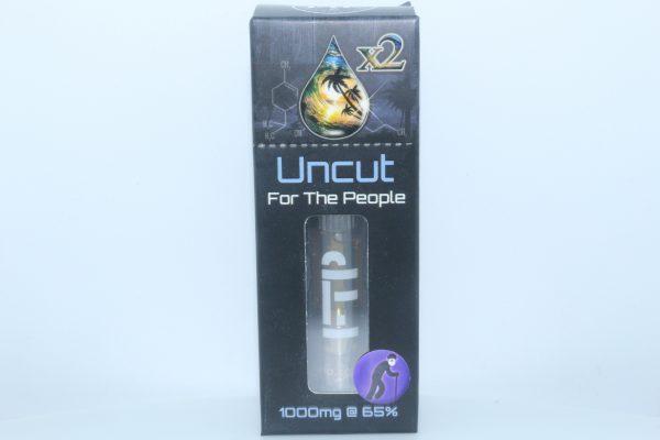 CBD For The People Uncut CBD Wax Cartridge Granddaddy Purple 1000mg 65% CBD
