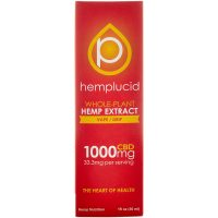 Hemplucid Full spectrum CBD Vape Liquid 1000mg 30ml