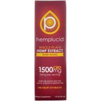 Hemplucid Full spectrum CBD Vape Liquid 1500mg 30ml
