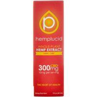 Hemplucid Full spectrum CBD Vape Liquid 300mg 30ml