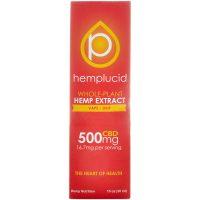 Hemplucid Full spectrum CBD Vape Liquid 500mg 30ml