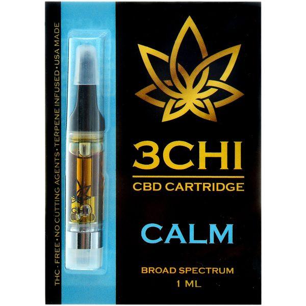 3Chi CBD Vape Cartridge Calm