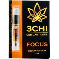 3Chi CBD Vape Cartridge Focus