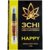 3Chi CBD Vape Cartridge Happy