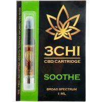 3Chi CBD Vape Cartridge Soothe