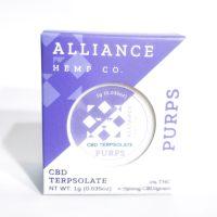 Alliance Hemp Co Terpsolate Purps