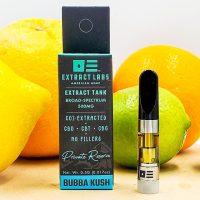 Extract Labs CBD Distillate Vape Cartridge Bubba Kush