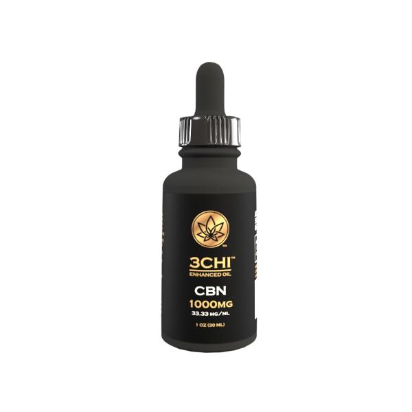 3Chi Broad Spectrum CBN Oil Tincture 1000mg 30ml