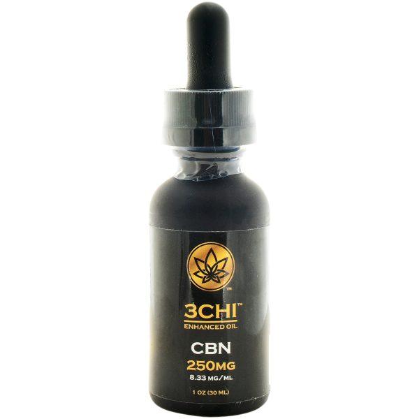 3Chi Broad Spectrum CBN Oil Tincture 250mg 30ml