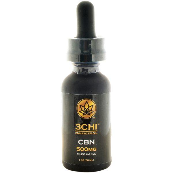 3Chi Broad Spectrum CBN Oil Tincture 500mg 30ml