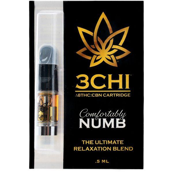 3Chi Comfortably Numb Vape Cartridge .5ml