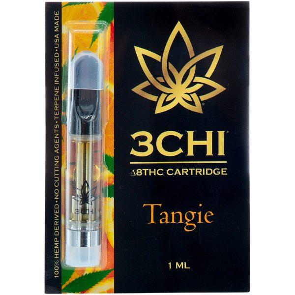 3Chi Delta 8 Vape Cartridge Tangie 1ml