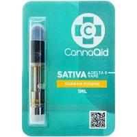 Cannaaid Delta 8 Vape Cartridge Durban Poison 1ml